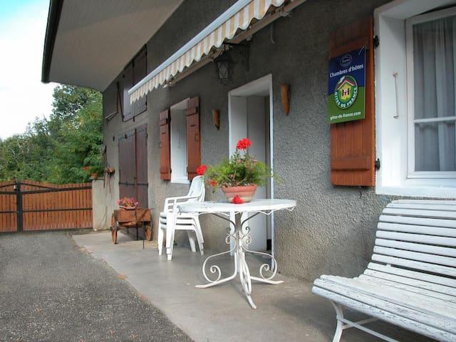La Maison paternelle entre Annecy et Aix-les-Bains
