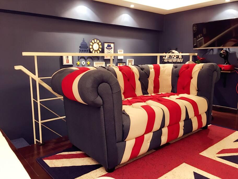 英式风格的设计理念,带你体会不一样的住宿体验
