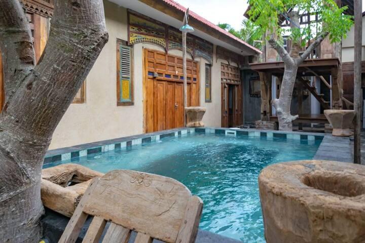 Private Room near Echo Beach canggu 4 person/ room
