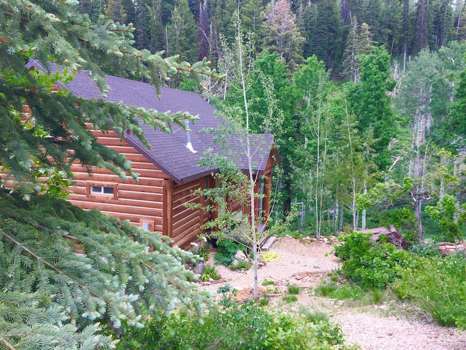 Cozy mountain cabin near park city utah cabins for rent for Affitto cabina park city utah