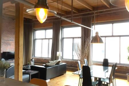 Lofty Penthouse - Montréal - Apartment