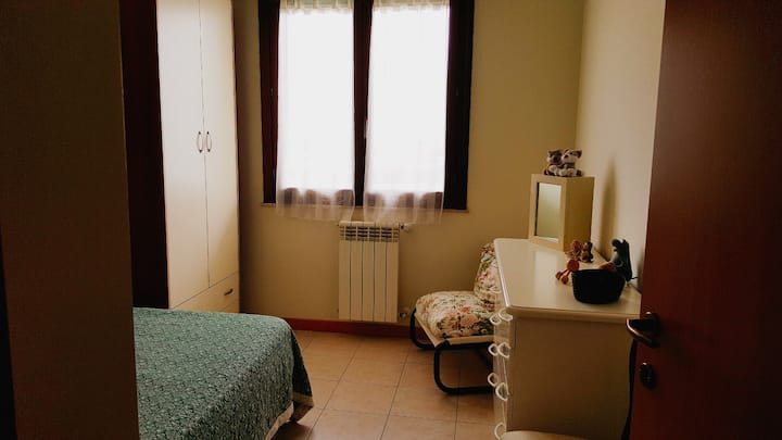 Room with a private bathroom