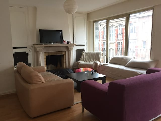 Room in the heart of the city of Lille - Lille - Apartment