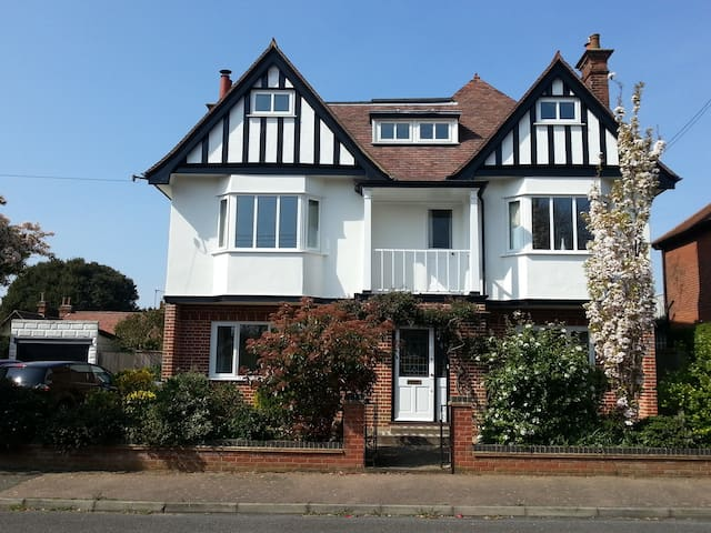 The 'Sculpture House' in Old Felixstowe-double