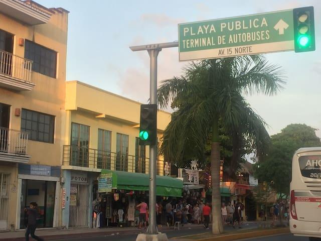 A dos calles del ADO quinta avenida bestlocation 2
