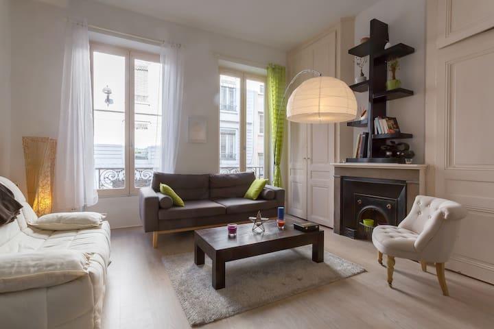 Bel appartement rénové au coeur de Lyon - Lyon - Lägenhet