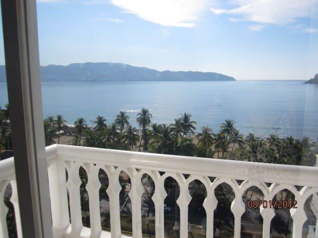 Con vista y frente al mar. - Acapulco - Apartment