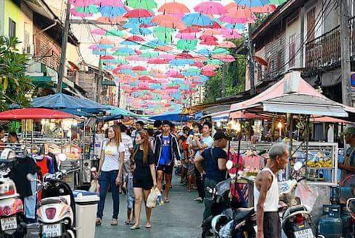 House 10min Night Market Phangan Ferry Surat-Thani