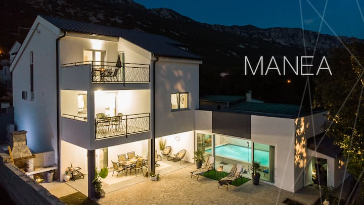 MANEA House 4* Tribalj with indoor swimming pool