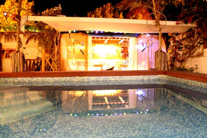 Surfers-Lounge-Dahab with Pool and private Rooftop