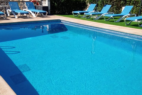 Can Tomeu, casa con piscina, Wi-fi para 6 p.