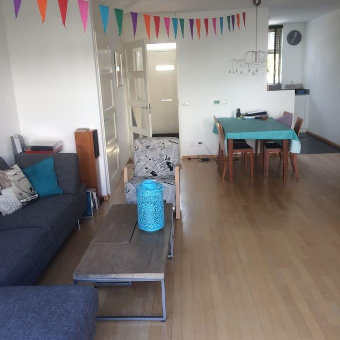 Livingroom in spring