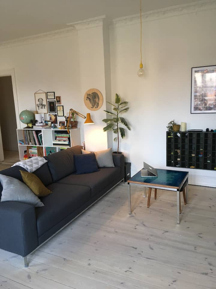 Cosy apartment in the ❤️of Nørrebro