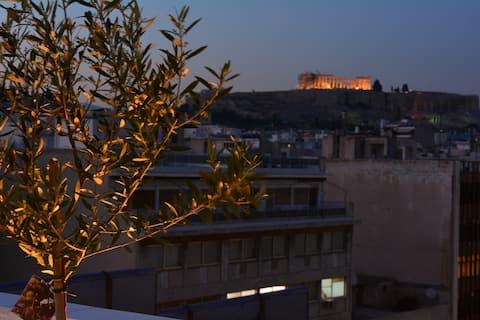 Unique Acropolis View!-Intense Cleaning