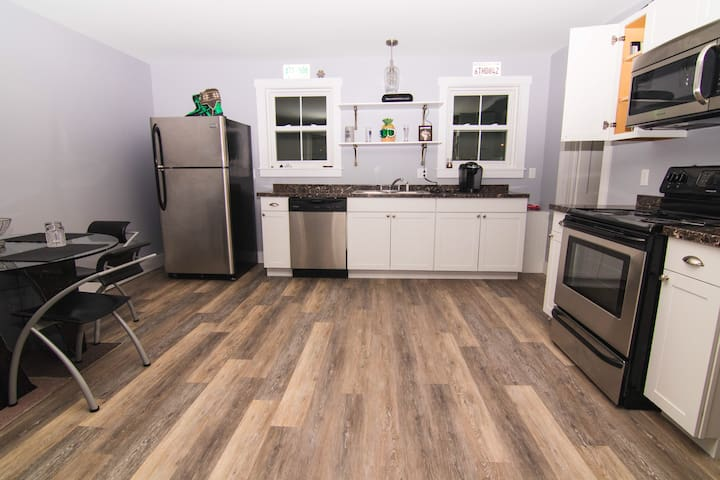 Hip, renovated, downtown Lincoln apartment
