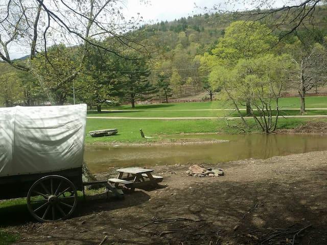 Rustic Cowboy Adventure Camping