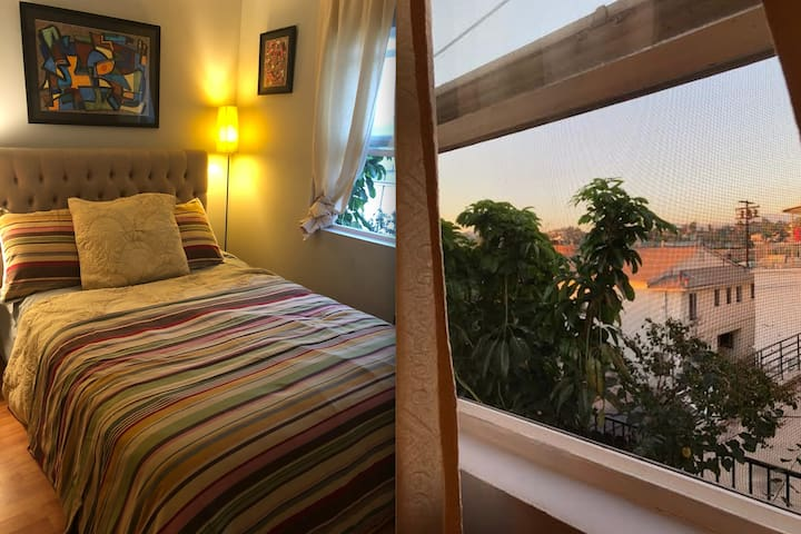 Spacious Echo Park Room with a View