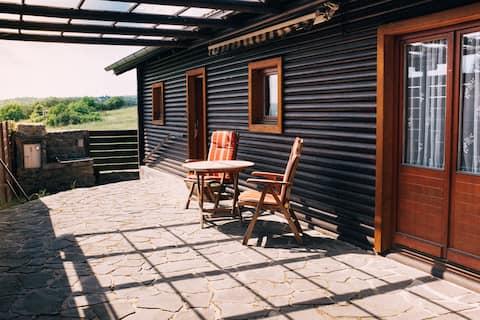 Piękna chatka w południowym Brnie