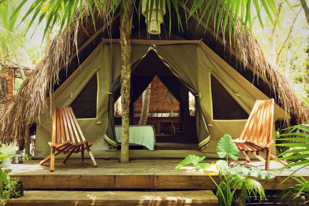 private Glamping Tent