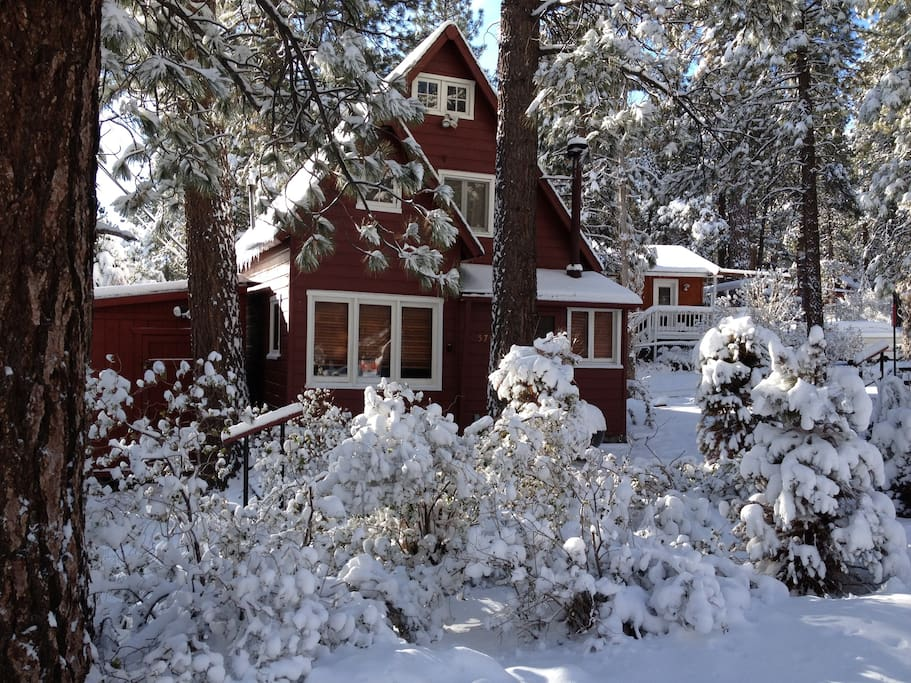 Winter in Wrightwood