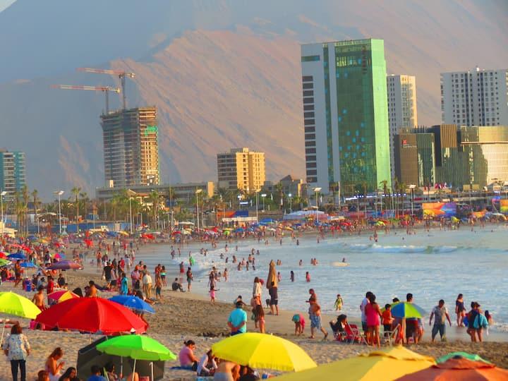 Casa a 4 c. de Cavancha, la mejor playa de Chile.