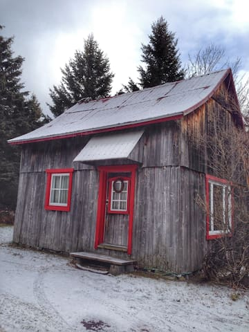 Warm and welcoming rustic cabin - Saint-Joachim - Bungalo