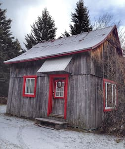 Warm and welcoming rustic cabin - Saint-Joachim