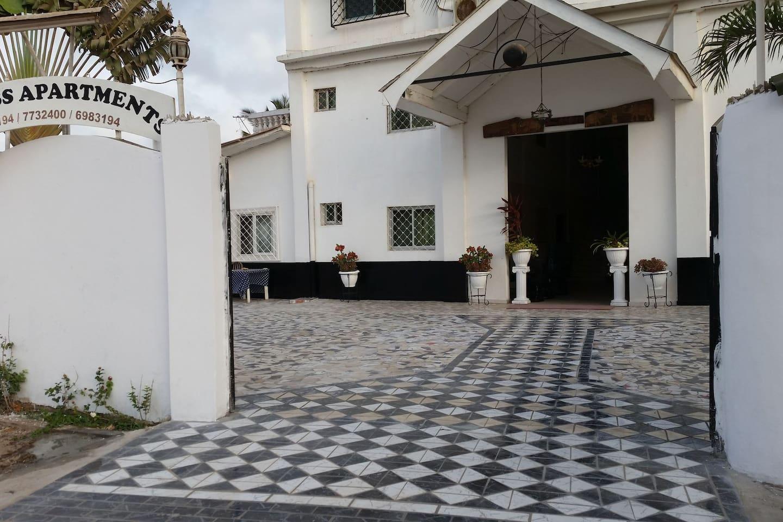 #1 Princess apartments 230 meters senegambia strip