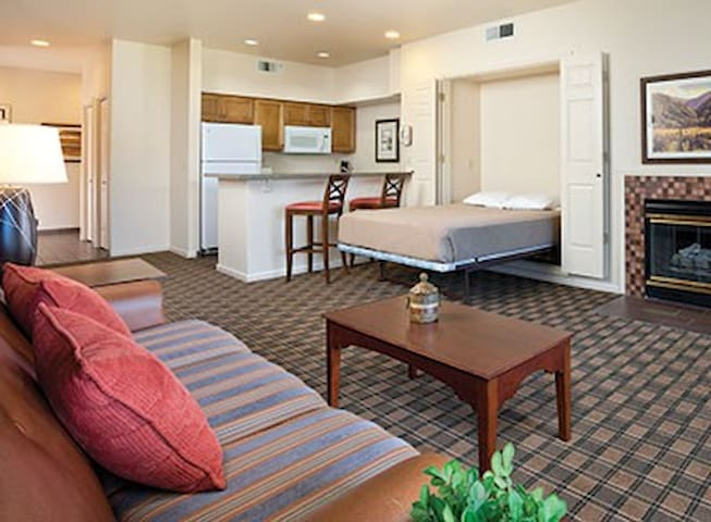 One-Bedroom Condo at WorldMark Clear Lake Sleeps 4