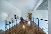 Mezzanine/relax and reading space