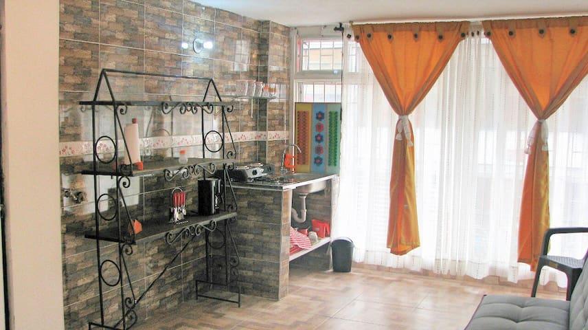 Best location, comfortable apartment  in chapinero