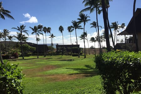 Budget - On the Ocean - MiniVan Included- Molokai - Condominio