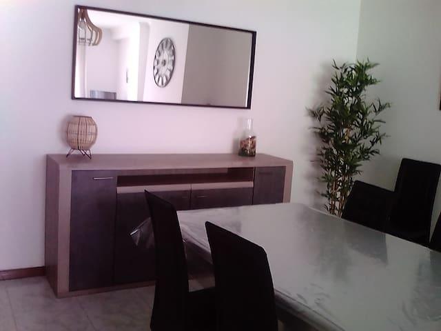 Appartement confortable, spacieux  et lumineux