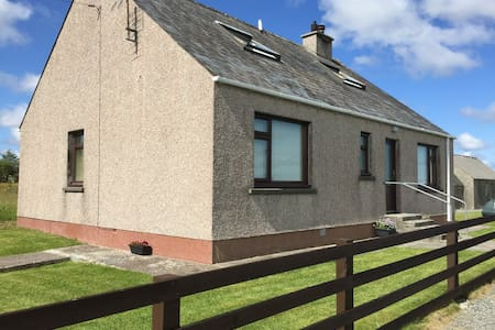 44 Back, Self Catering house with lovely sea views