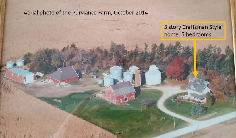 The Purviance Farm - century farm - Minburn - Penzion (B&B)