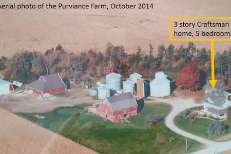 The Purviance Farm - century farm - Minburn