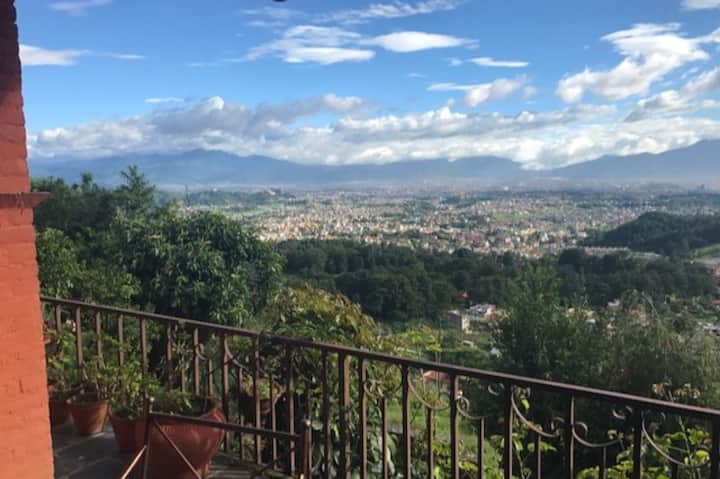 Kathmandu home with a view