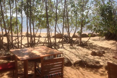 Charming Penthouse with access to beach - Roches Noires - 公寓