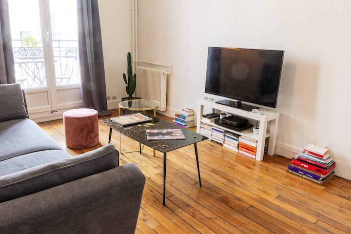 Cosy appartment full of light - Montmartre