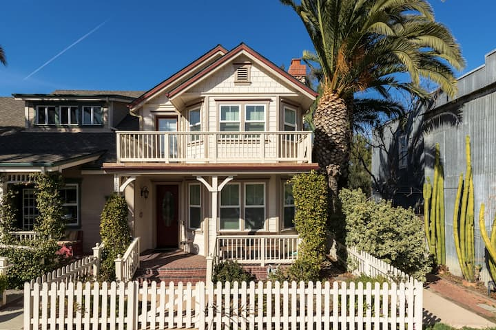 2Br/1.5Br - Craftsman Cottage- Downtown Los Olivos
