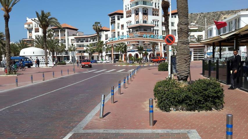 Marina Agadir.. App standing 100m2 - Agadir - Apartment