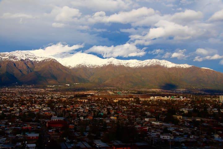 Chile Viñedos,Shopping,Cordillera y Mar (familias) - Santiago - Apartamento
