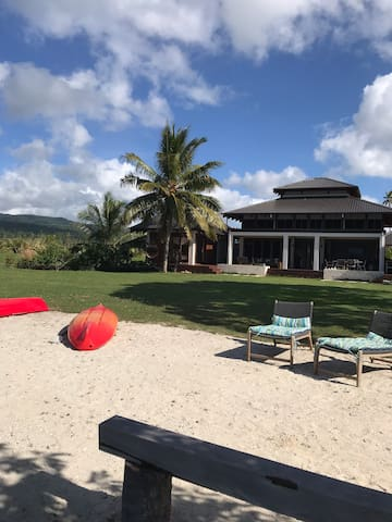 Main house from beach
