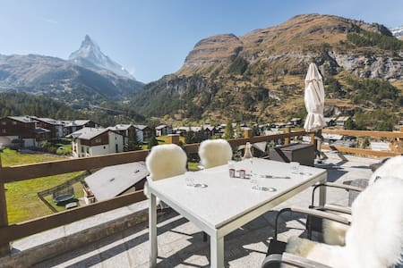Matterhorn view apartment Zermatt, 2 - 3 guests