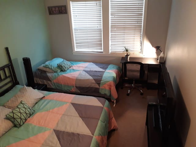 Serene Setting in Charm City Full&Twin bed Special