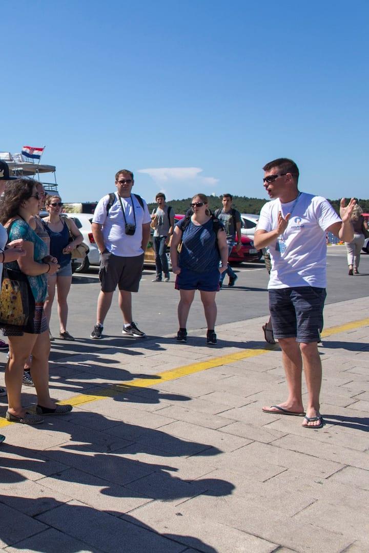 Guided tour of Šibenik city
