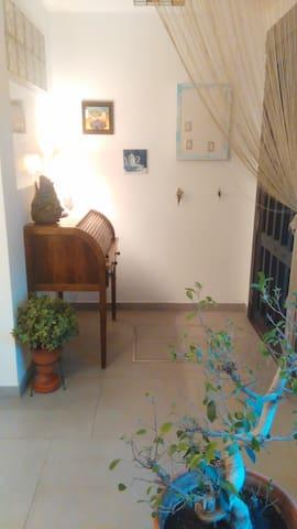 CASA DE MANUELA. Habitación privada simple - Tomares - บ้าน