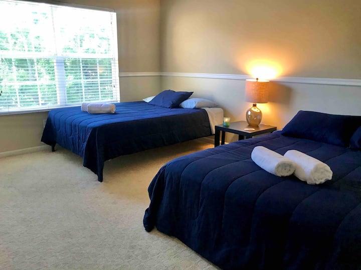 Orlando Private Bedroom - 10min Universal Studios!