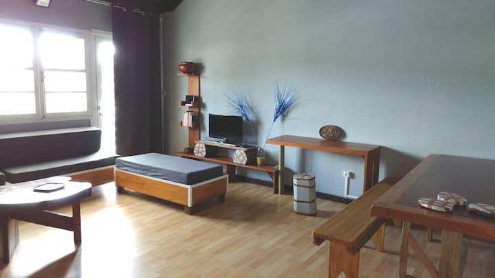 Appartement 100  M²  en centre bourg la juliana