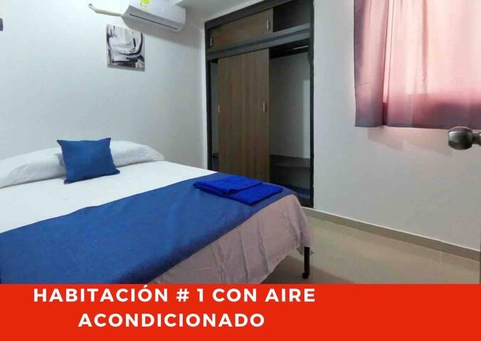 Puedes elegir cama doble o 2 camas sencillas
